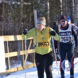 Skiing 90 km - Andreas Andersson (9669), Julia Forsberg (18557)