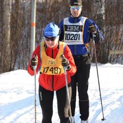 Skiing 90 km - Anders Frisk (10201), Elin Värehag (17487)