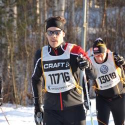 Skiing 90 km - Andreas Rickman (11716), Anders Degselius (13018)