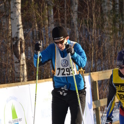 Skiing 90 km - Henrik Teneberg (7293)