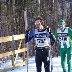 Skiing 90 km - Henry Nyberg (9418), Ola Holdal (12971)