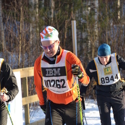 Skiing 90 km - Vincent Giroir (8944), Christian Schenholm (10262)