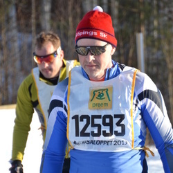 Skiing 90 km - Jan-Erik Höög (12593)