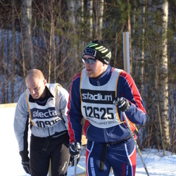 Skiing 90 km - Henrik Thorold (10916), Josef Holmgren (12625)