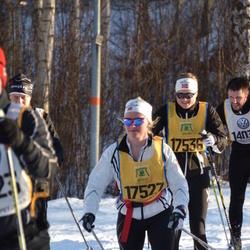 Skiing 90 km - Charlotte Waaler (17527), Sigrid Skatteboe (17536)