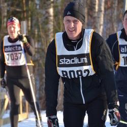 Skiing 90 km - Andreas Eriksson (8082)