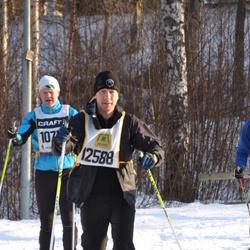 Skiing 90 km - Daniel Holmqvist (12588)