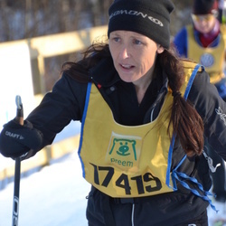Skiing 90 km - Agneta Blomgren (17419)