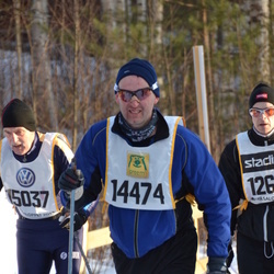 Skiing 90 km - Henrik Viklund (14474)