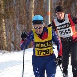 Skiing 90 km - Anders Johansson (9569), Caroline Stenström (17983)