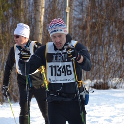 Skiing 90 km - Fredrik Lagerholm (11346)