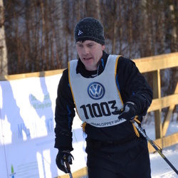Skiing 90 km - Andreas Andersson (11003)