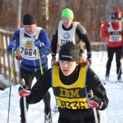 Skiing 90 km - Jennifer Warg (18336)