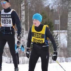 Skiing 90 km - Elisabet Ahlberg (18309)