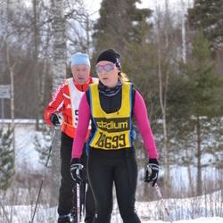 Skiing 90 km - Elin Eriksson (18699)