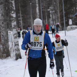 Skiing 90 km - Fredrik Smedberg (8875)