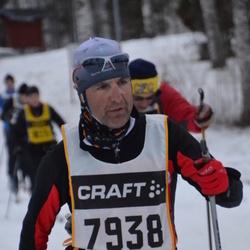 Skiing 90 km - Emanuele Panza (7938)