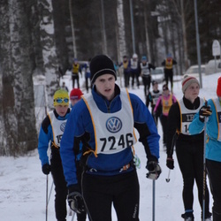 Skiing 90 km - Axel Byrmo (7246)