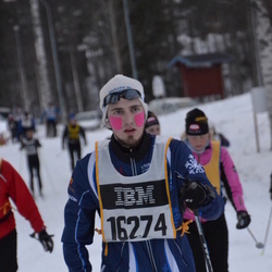 Skiing 90 km - Erik Ljungberg (16274)