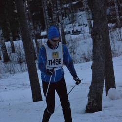 Skiing 90 km - Fredrik Lindström (11498)