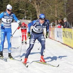 Skiing 90 km - Fredrik Byström (51), Anton Järnberg (54)