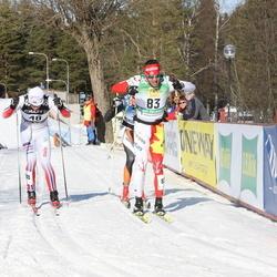 Skiing 90 km - Martin Andersen (48), Brian Mckeever (83)
