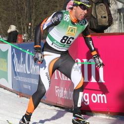 Skiing 90 km - Adam Steen (86)