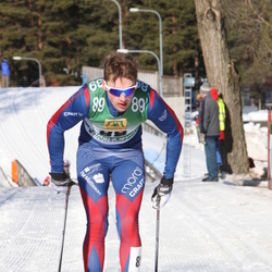 Skiing 90 km - Anders Solin (89)