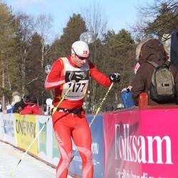 Skiing 90 km - Asger Fischer Mølgaard (1177)