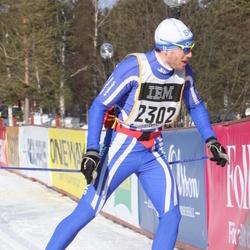 Skiing 90 km - Alexander Heun (2302)