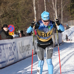 Skiing 90 km - Jenny Hansson (504)