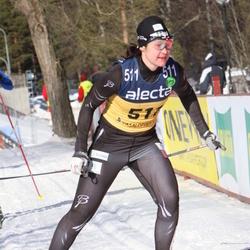 Skiing 90 km - Britta Johansson Norgren (511)