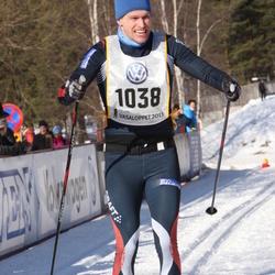 Skiing 90 km - Henrik Wallin (1038)
