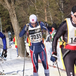 Skiing 90 km - Henrik Eknor (2035)