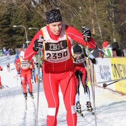 Skiing 90 km - David Olofsson (2390)
