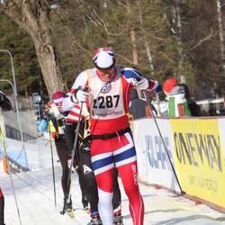 Skiing 90 km - Christian Stabell Eriksen (2287)