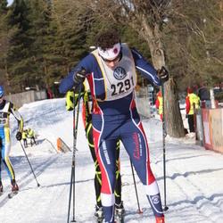 Skiing 90 km - Henrik Aiff (2291)