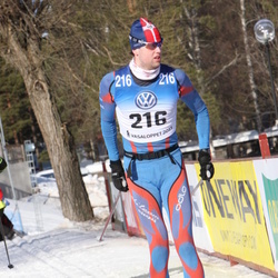 Skiing 90 km - Henrik Ekstrand (216)