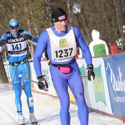 Skiing 90 km - André Jakobsson (141), Börge Moen (1237)