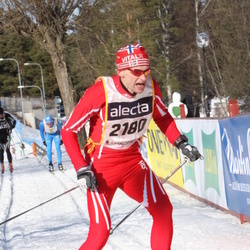 Skiing 90 km - Åge Snerting (2180)