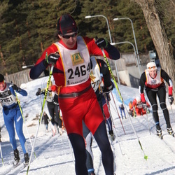 Skiing 90 km - Alexander Bochkarev (2464)