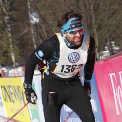 Skiing 90 km - Arvid Björkroth (1362)