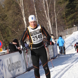 Skiing 90 km - David Jonsson (2340)