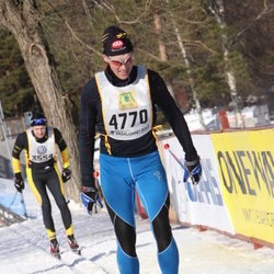 Skiing 90 km - Anders Lindroos (4770)