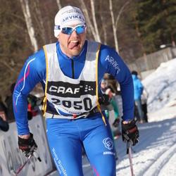 Skiing 90 km - Carl Söderqvist (2050)