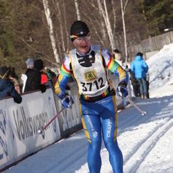Skiing 90 km - Henrik Rudelius (3712)