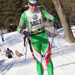 Skiing 90 km - David Zamecnik (5863)