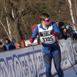 Skiing 90 km - Alexander Gullesen (3105)