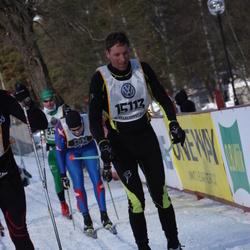 Skiing 90 km - Ernst Gfeller (15113)