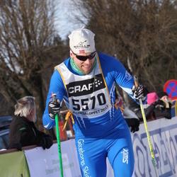 Skiing 90 km - Daniel Netz (5570)